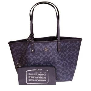 Brand New Coach Reversible Tote Bag MSRP $350